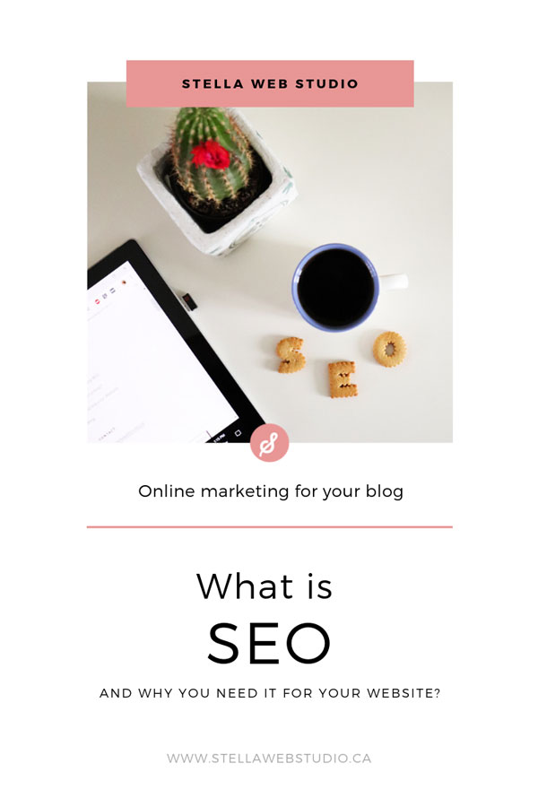 What is SEO, why do I need it and where to start learning this technique. Stella Web Studio