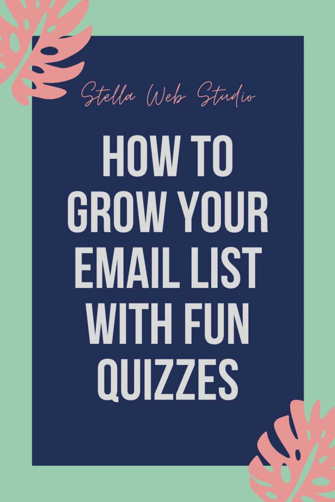 How to grow my email list fast with quizzes