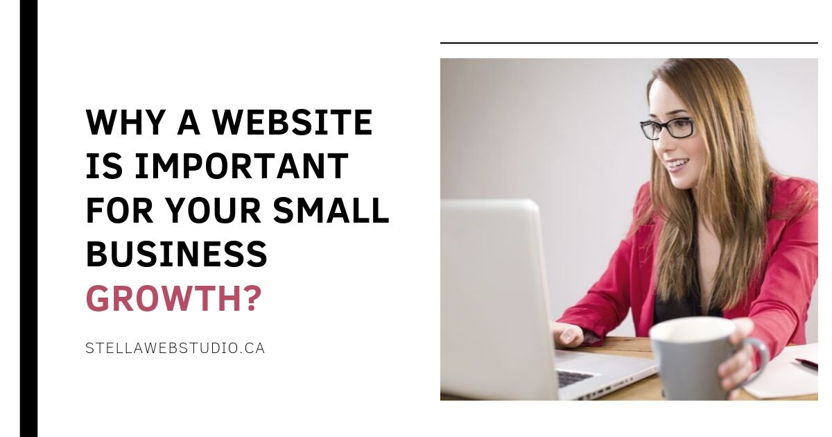 Why a website is important for your small business growth